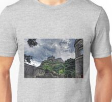 The Castle from St Cuthberts Unisex T-Shirt