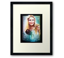 Lady of Light Framed Print