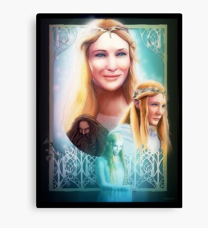 Lady of Light Canvas Print