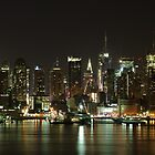 The Midtown Manhattan Skyline - New York City  by cvrestan