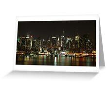 The Midtown Manhattan Skyline - New York City  Greeting Card