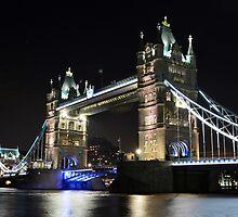 Tower bridge London by ANDREW BARKE