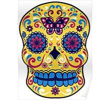 Calavera Skull VIII Poster