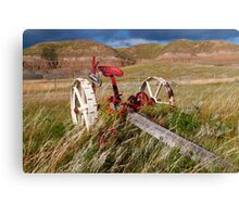 Agricultural equipment Canvas Print