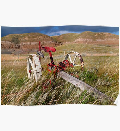 Agricultural equipment Poster