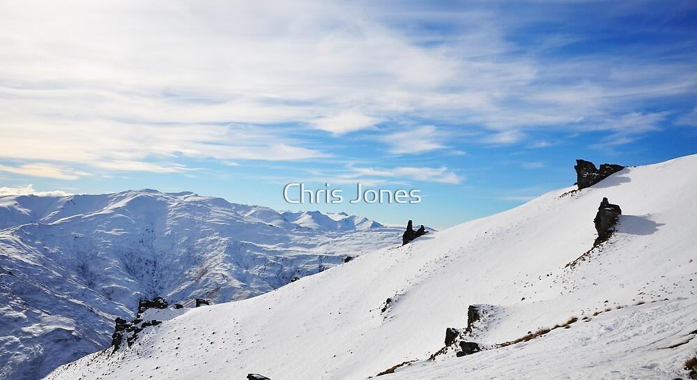Sunshine on the Peak, Coronet Peak, NZ by Chris Jones