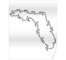 Cities of Florida 001 Poster