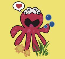 Octopus in love Kids Tee