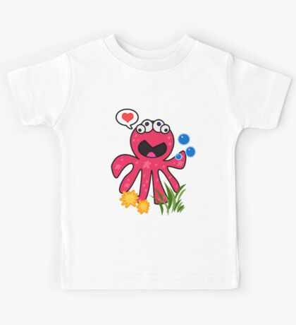 Octopus in love Kids Clothes