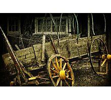 Weathered Warrior Photographic Print