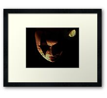 The Mysterious Mask Framed Print