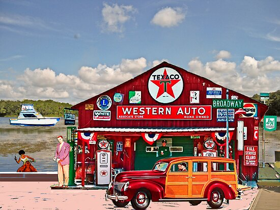 Western Auto Parker,Florida by Mike Pesseackey (crimsontideguy)