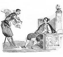 """Martin & Gil"" engraving after Gigoux for Gil Blas 1835 by OldeArte"