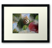 FOREST IN THE SKY  Framed Print