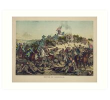 Civil War Battle of Nashville December 15-16 1864 Art Print