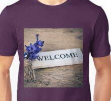 Welcome Door Sign Unisex T-Shirt