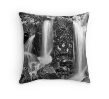 Mini Waterfall at bottom of Sourmilk Ghyll Throw Pillow