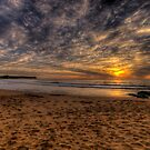 New World In The Morning -Warriewood Beach, Sydney - The HDR Experience by Philip Johnson