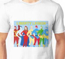 Liberty Legion Minimal  Unisex T-Shirt