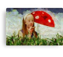 Alice in Wonderland by Sarah Kirk Canvas Print