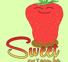 Strawberry - Sweet as I can be by Anders Andersen