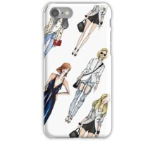 Casual Girl's outfits iPhone Case/Skin