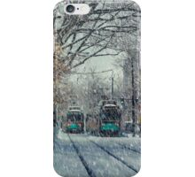 Never ending winter. Brookline, MA iPhone Case/Skin