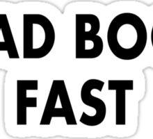Zone Theory I READ BOOKS FAST Tim and Eric Sticker
