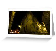 Arles at night Greeting Card