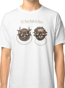 It's Very Rude to Stare Labyrinth Knockers Classic T-Shirt