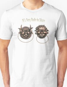 It's Very Rude to Stare Labyrinth Knockers T-Shirt