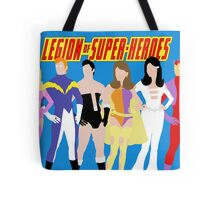 Legion of Super-Heroes Minimal 1 Tote Bag
