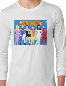 Legion of Super-Heroes Minimal 1 Long Sleeve T-Shirt