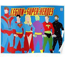Legion of Super-Heroes Minimal 2 Poster