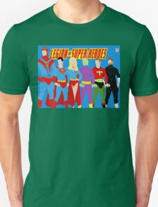 Legion of Super-Heroes Minimal 2 Unisex T-Shirt