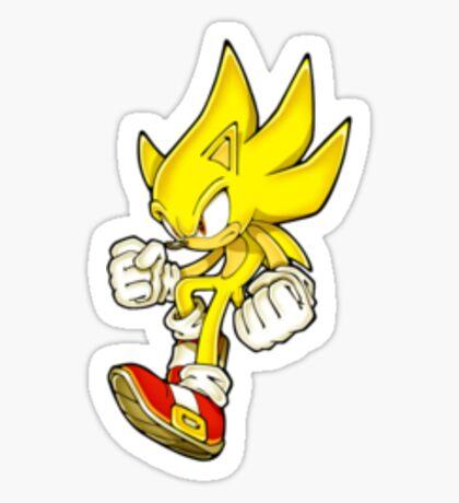 Super Sonic Sticker