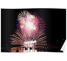4th July Fireworks 1 Poster