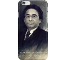 Thank You, Satoru Iwata 1959 - 2015 iPhone Case/Skin