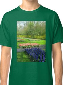 Colourful Beds of Hyacinths and Tulips - Keukenhof Gardens Classic T-Shirt