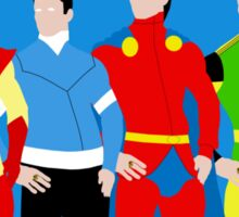 Legion of Super-Heroes Minimal 3 Sticker