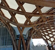 Pompidou Metz: The roof structure (I) by bubblehex08