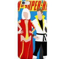 Legion of Super-Heroes Minimal 4 iPhone Case/Skin
