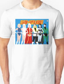 Legion of Super-Heroes Minimal 4 Unisex T-Shirt