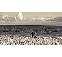 Lonely In This Unpredictable World Photographic Print