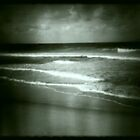 moody beach by karin  taylor