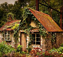 River Road Railside Cottage by Yvonne Roberts