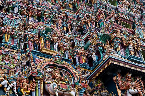 Shree Meenakshi Temple gate,