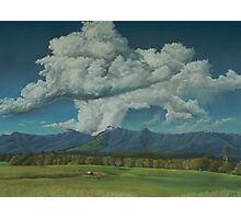 Thunderhead Over Lansdowne Photographic Print