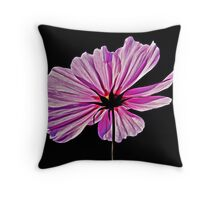 Pink Explosion Throw Pillow