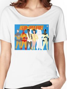 Legion of Super-Heroes Minimal 5 Women's Relaxed Fit T-Shirt